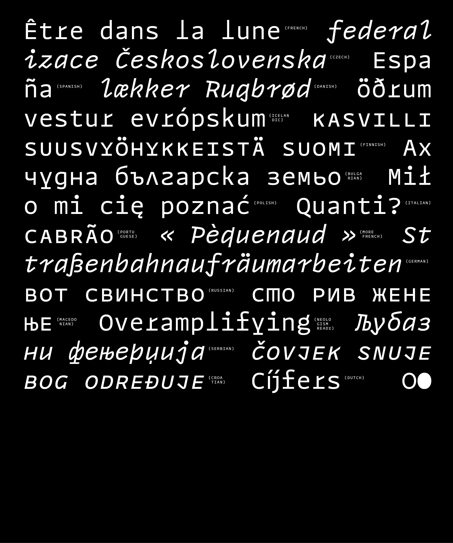 Modern Cyrillic 2019